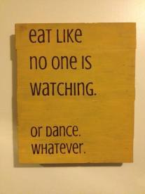Eat or Dance